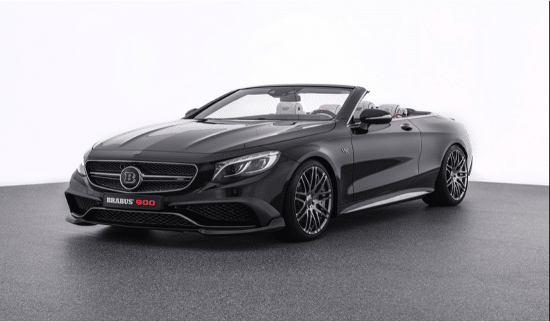 Brabus S900 ROCKET based on Mercedes S 65 Convertible