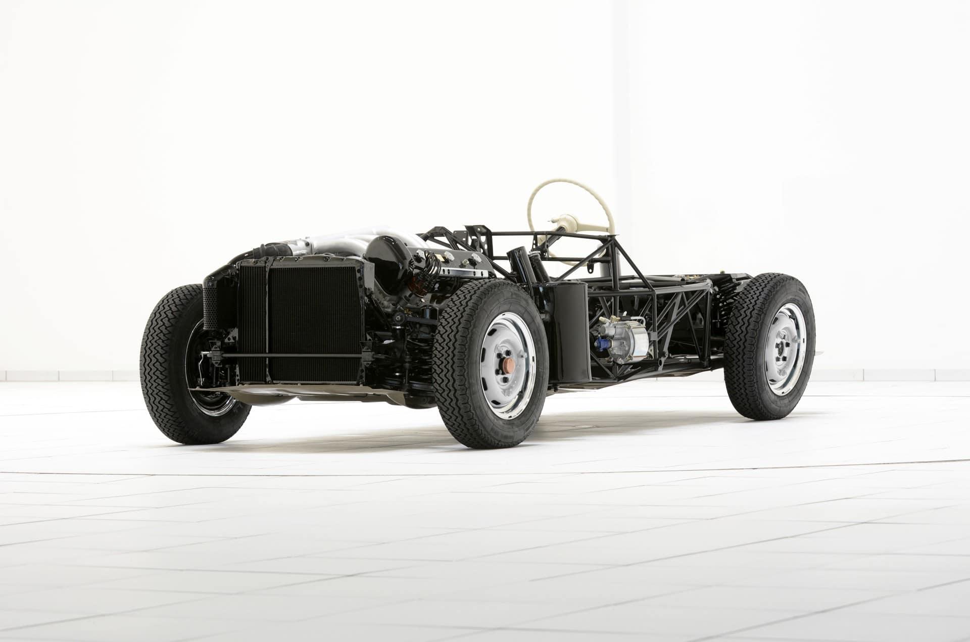 Brabus Classic – 300SL Gullwing – silver