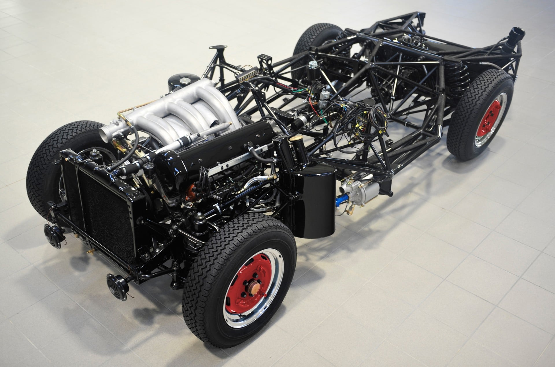Brabus Classic – 300 SL Roaster – Red