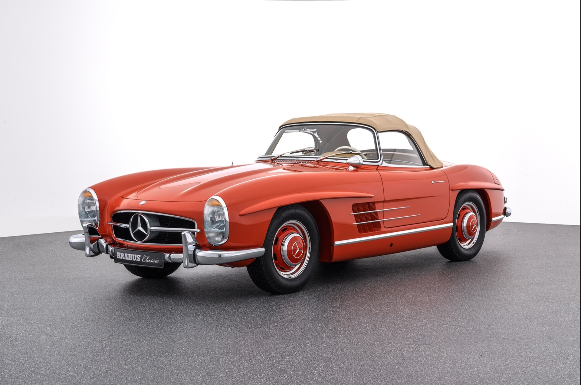 Brabus Classic – 300SL Gullwing Roadster Red