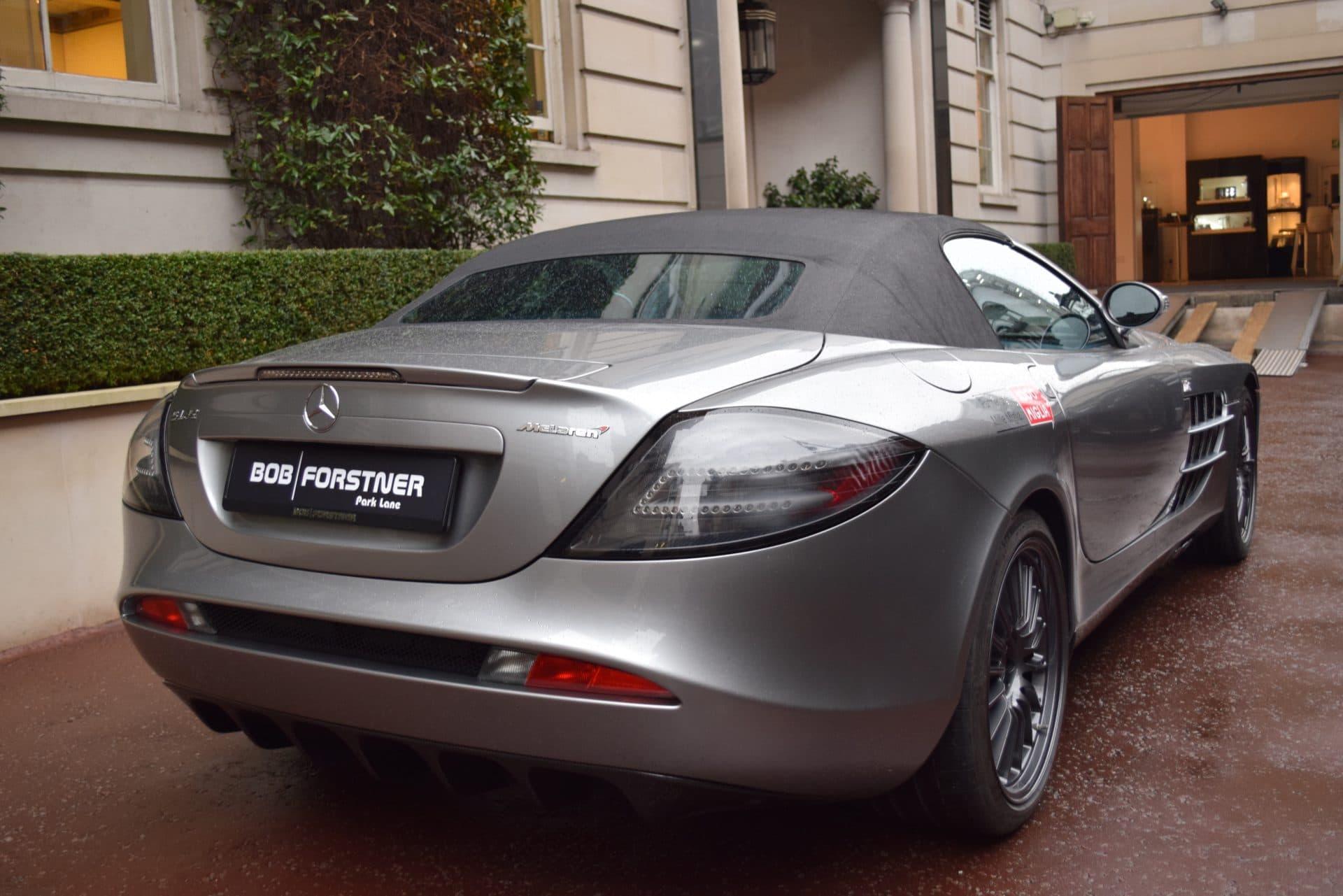 Mercedes Benz Slr Mclaren Roadster 722s Bob Forstner