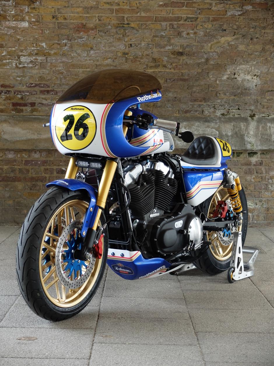Harley Davidson Sportster Xl1200cx Roadster Custom Build Bob Forstner