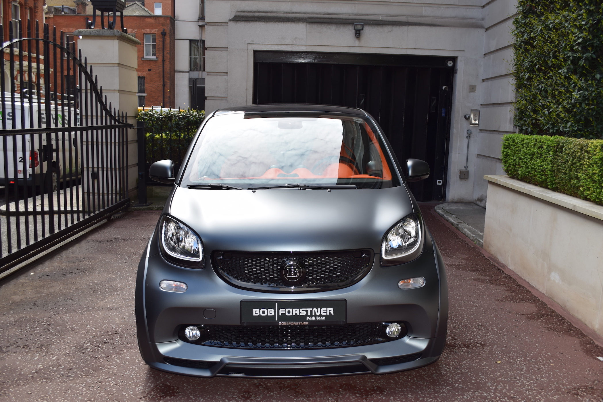 BRABUS Smart Ultimate 125 – SPECIAL EDITION – Grigio Lynx matt