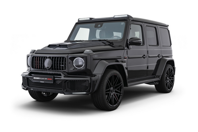BRABUS BLACK OPS 800 on G63 – one of ten