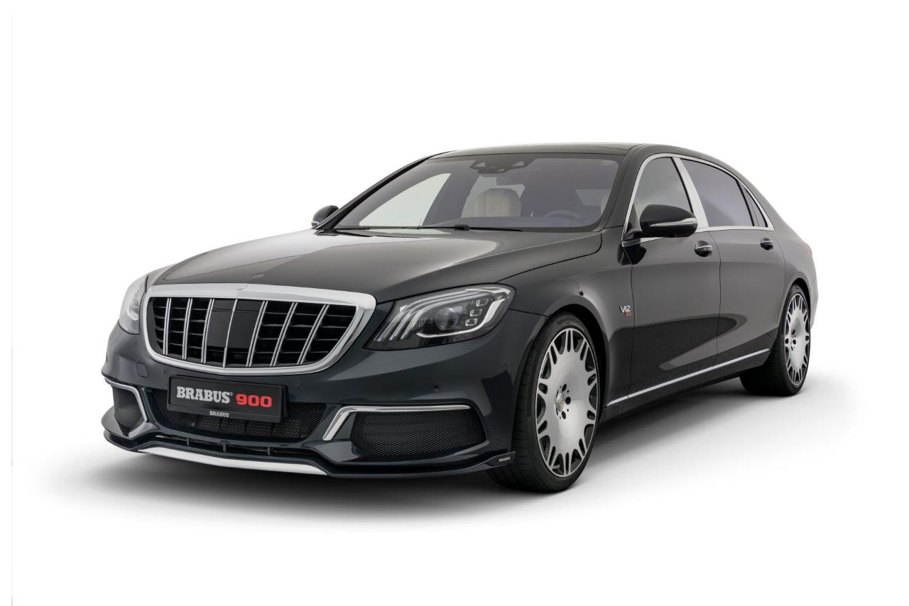 BRABUS 900 on Mercedes-MAYBACH S650 Limousine
