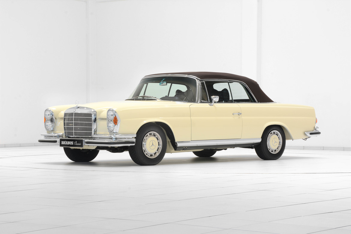 BRABUS Classic – 280 SE (1969) – Light ivory with dark brown