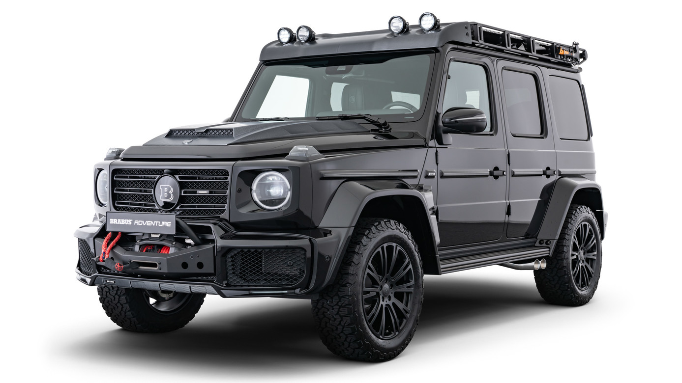 BRABUS ADVENTURE Package on 2020 AMG G63 Style G350