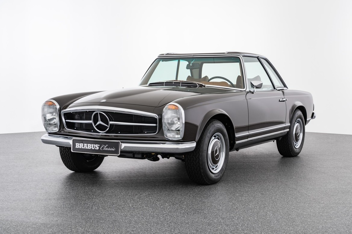 BRABUS CLASSIC – 280 SL Pagoda (1970) – Tabacco brown with cognac