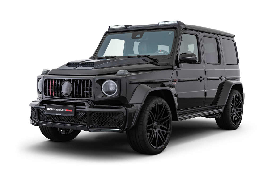 "BRABUS 800 ""BLACK OPS"" – LIMITED EDITION ""1 OF 10"""