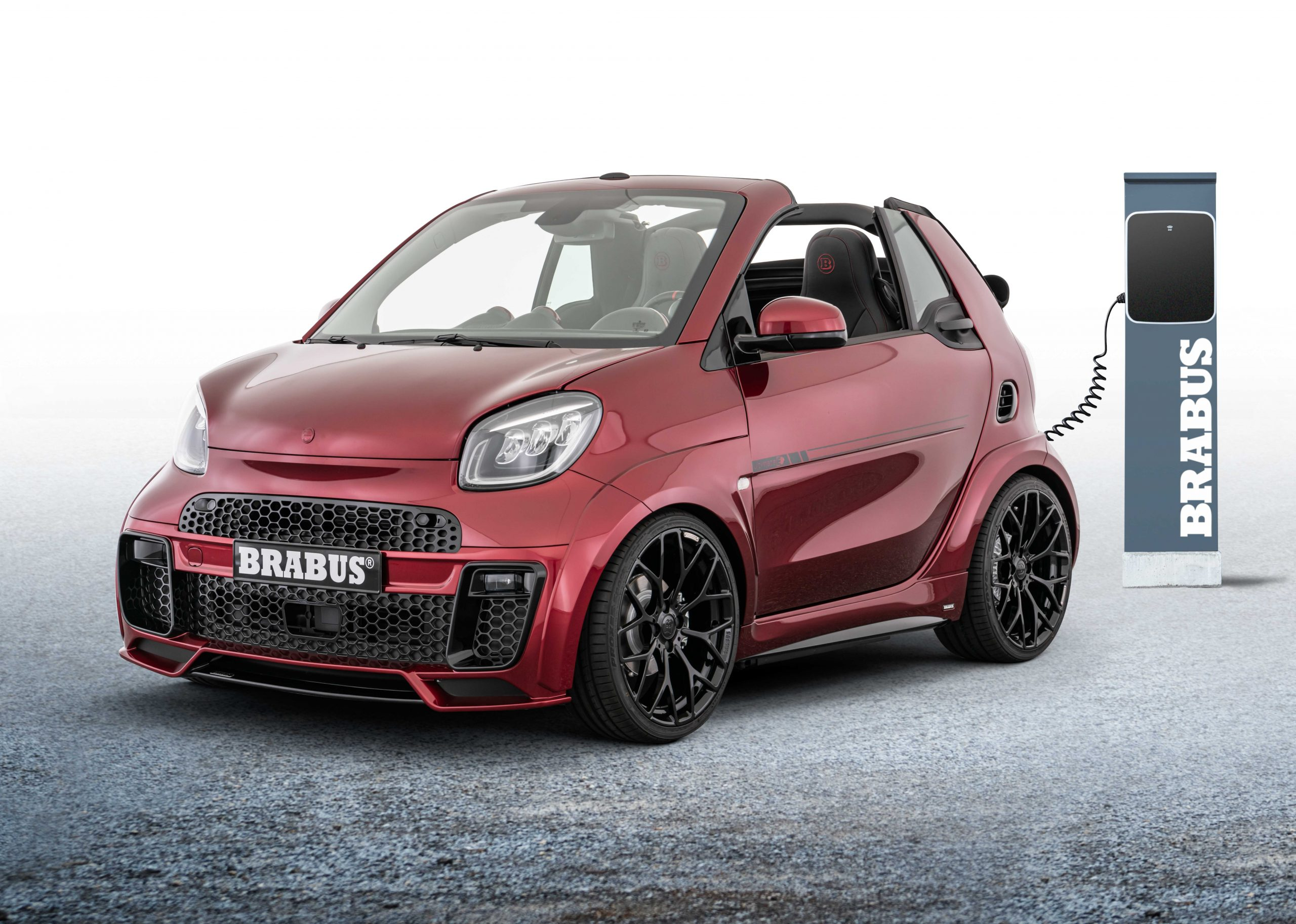 BRABUS Ultimate E Facelift – Candy red metallic