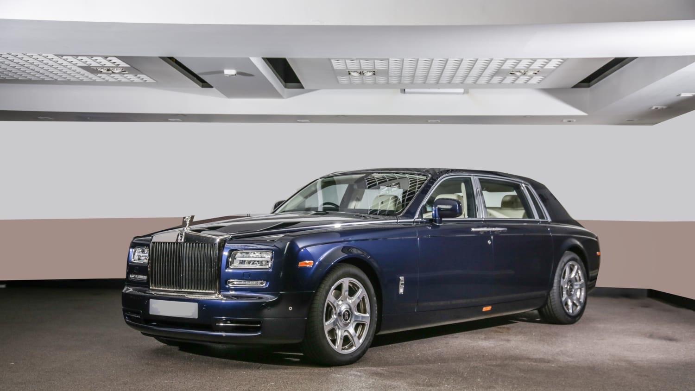 2015 Rolls Royce Phantom Extended Wheel Base
